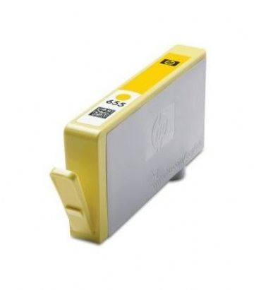 HP 655 Yellow Refurbished Inkjet Z112AE